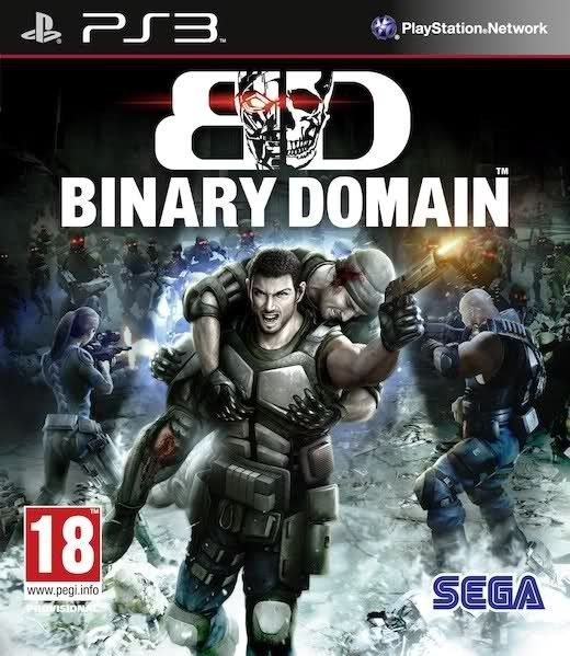 Игра Binary Domain (PS3)