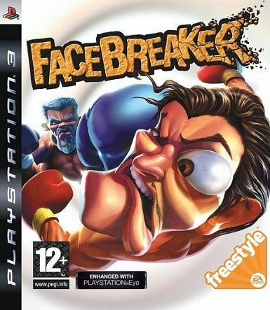 Игра FaceBreaker (PS3)