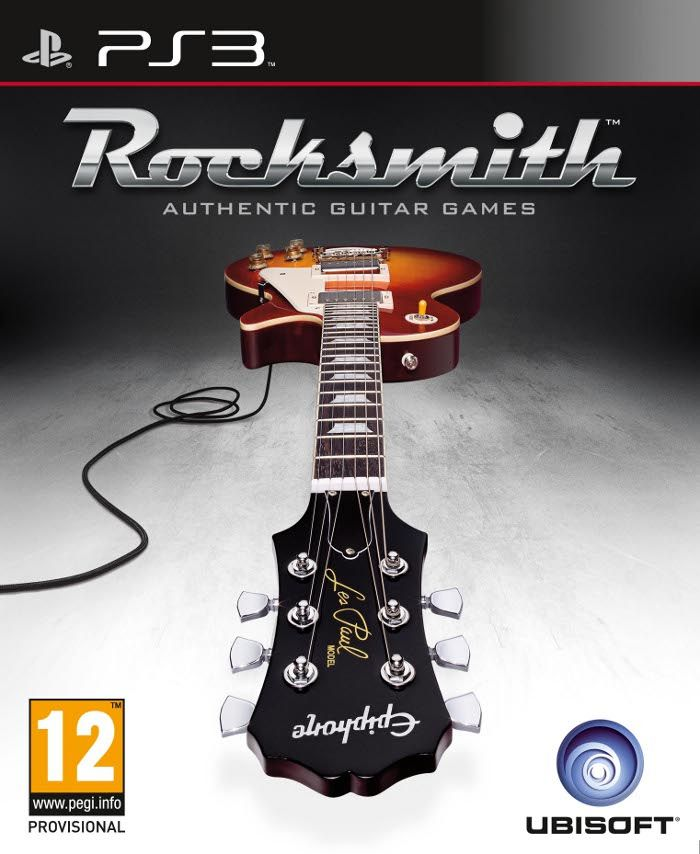 Игра Rocksmith Authentic Guitar Games (PS3)