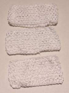 Повязка ажурная, 70 мм, цвет №01 белый (1 уп = 12 шт), Арт. ПВ0046-01