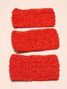 Повязка ажурная, 70 мм, цвет №14 красный (1 уп = 12 шт), Арт. ПВ0046-14
