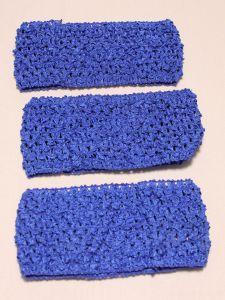 Повязка ажурная, 70 мм, цвет №26 синий (1 уп = 12 шт), Арт. ПВ0046-26