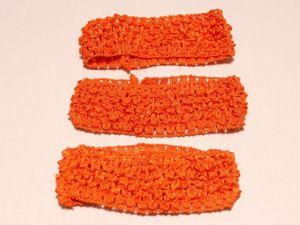 `Повязка ажурная, 45 мм, цвет №16 ярко-оранжевый