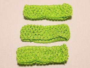 `Повязка ажурная, 45 мм, цвет №29 зеленый