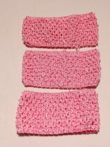 `Повязка ажурная, 70 мм, цвет №08 светло-розовый, Арт. Р-ПВ0046-08