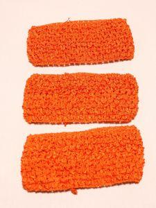`Повязка ажурная, 70 мм, цвет №16 ярко-оранжевый