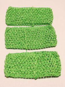 `Повязка ажурная, 70 мм, цвет №30 мятно-зеленый