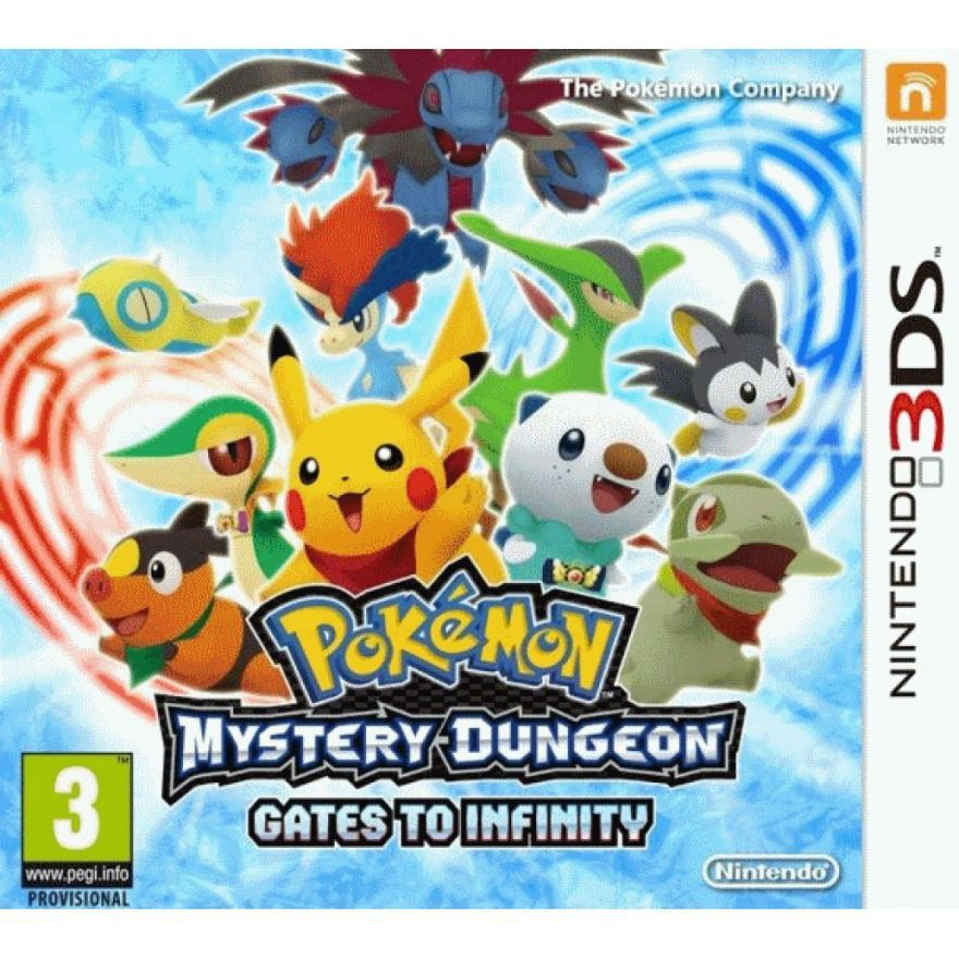 Игра Pokemon Mystery Dungeon Gates to Infinity (Nintendo 3DS)