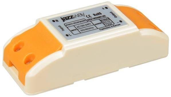 Блок питания для светодиодных лент Jazzway 12V 12W IP20 (интерьерный) PPS CVP 12012 .1032447