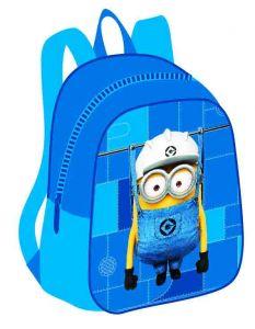 Рюкзачок малый Миньоны (синий) .