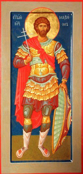 Максим Антиохийский (мерная икона)
