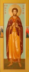 Максим Дамасский (мерная икона)