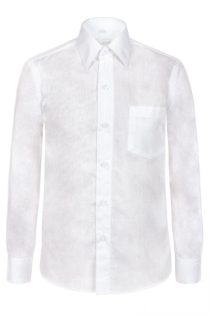 Рубашка для мальчика белого цвета