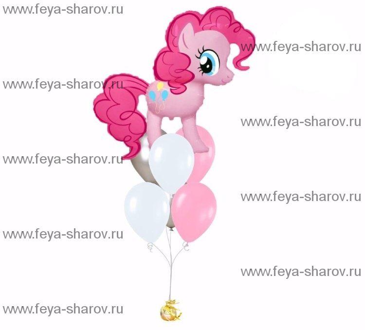 Фонтан шаров Пинки Пай