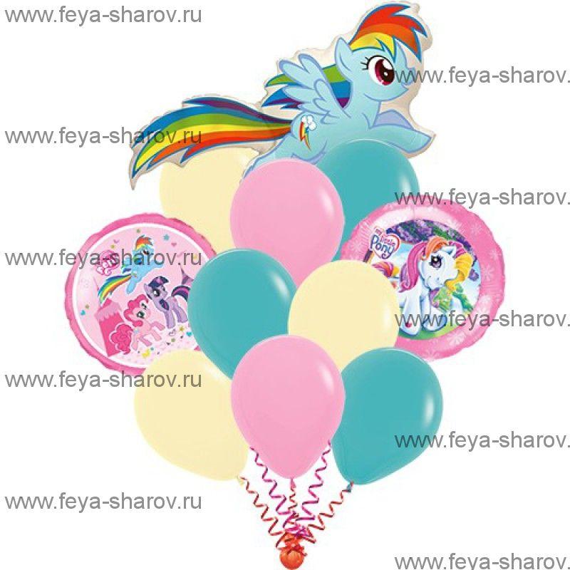 Букет Шаров My Little Pony