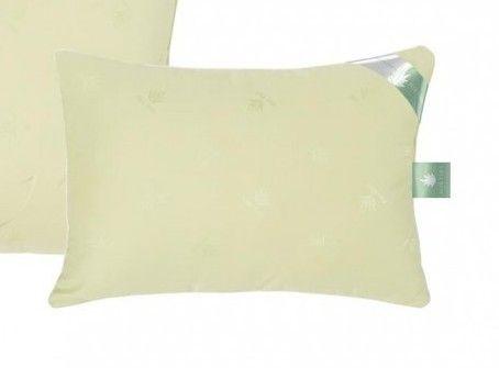 Подушка Лебяжий пух-алое-вера, сатин