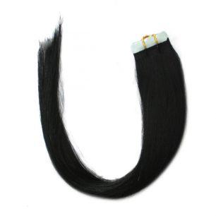 Натуральные волосы на липучках №001 (40 см)