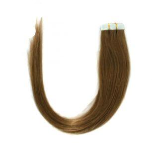 Натуральные волосы на липучках №012 (45 см)