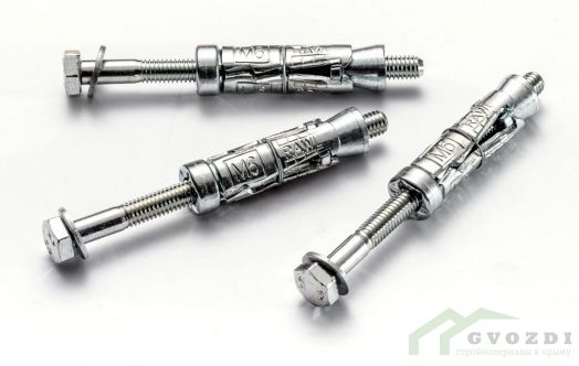 Анкер с болтом Rawlplug 10-10 мм (15 шт)