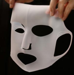 Многоразовая косметическая силиконовая маска DAISO (028)