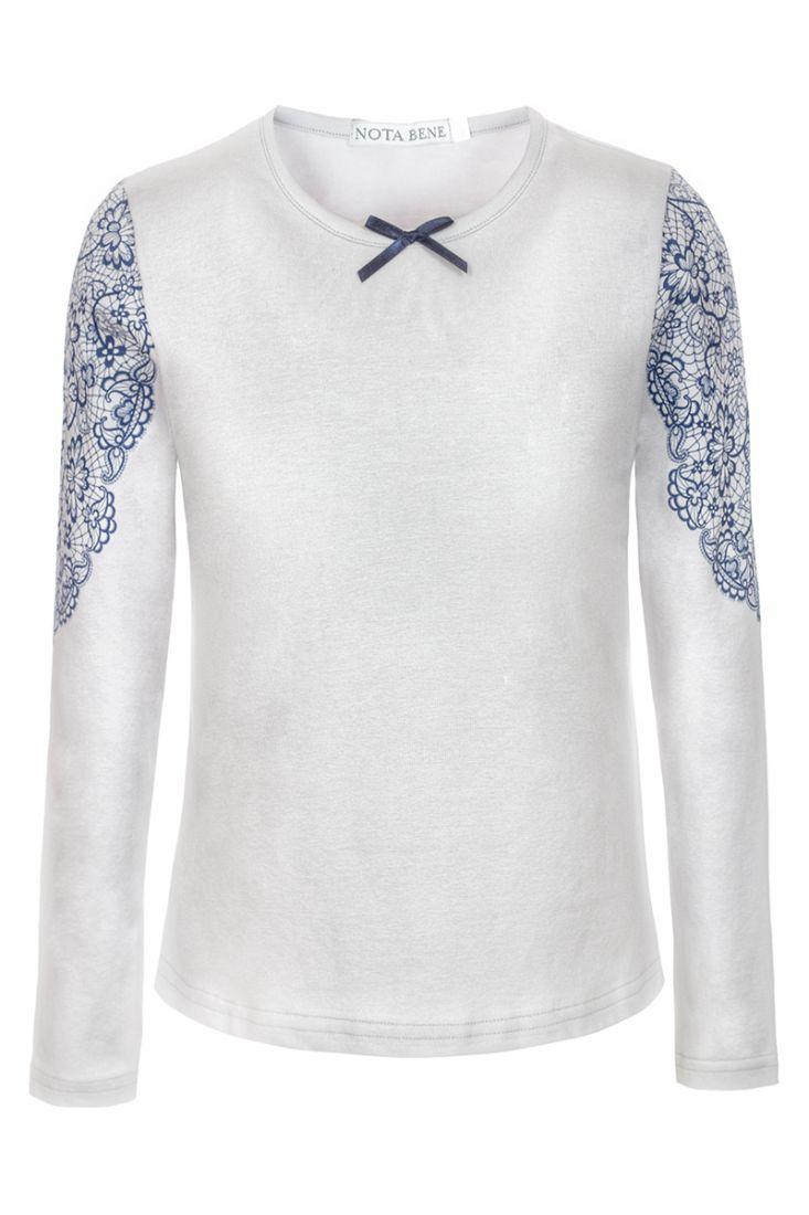 Блузка светло-серая для девочки