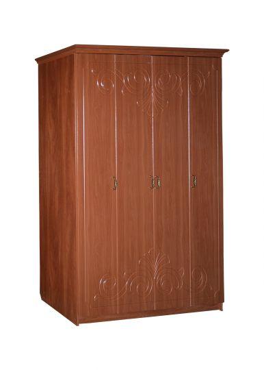 Шкаф четырехстворчатый Урсула с багетом