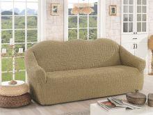 Чехол для трехместного дивана (бежевый) Арт.2652-1