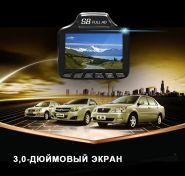 Автомобильный антирадар с видеорегистратором и GPS  3 в 1
