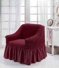Чехол для кресла BULSAN (бордовый) Арт.1797-2