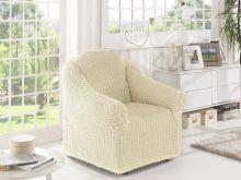 Чехол для кресла (кремовый) Арт.2653-5