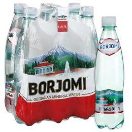 Доставка минеральной воды Боржоми, (0,75л/6шт.) пэт