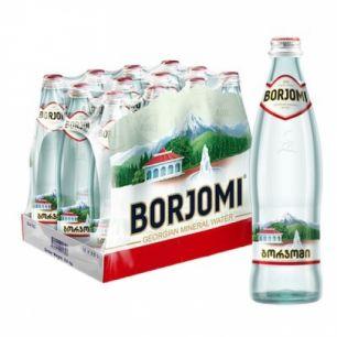 Доставка минеральной воды Боржоми, (0,5л/12шт.) стекло