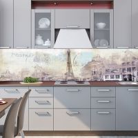 Фартук кухни - Ретро открытка купить в магазине Интерьерные наклейки
