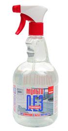 Мультидез-Тефлекс - для мытья и дезинфекции поверхности 0,5 л.