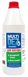 Мультидез-Тефлекс для посуды 0,5 л.