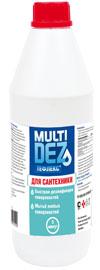 Мультидез - Тефлекс для мытья и дезинфекции сантехники 1,0 л.