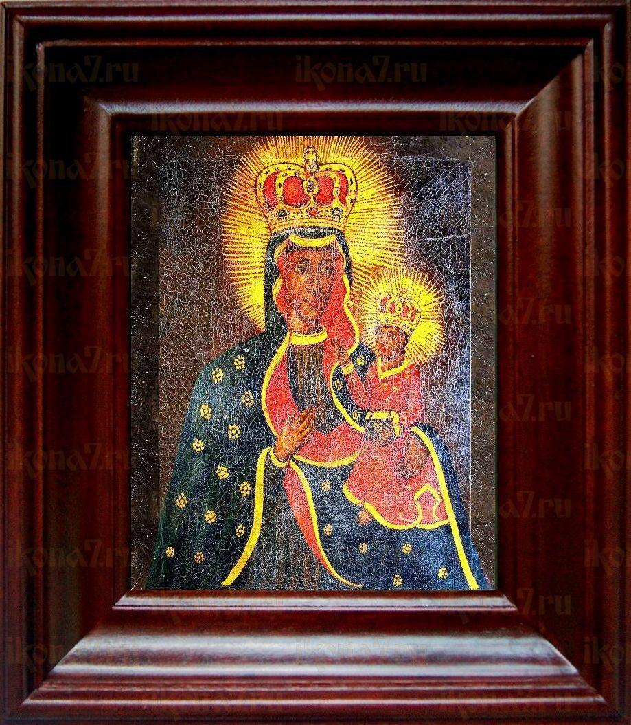 Тывровская икона БМ (21х24), простой киот