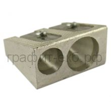 Точилка FC183400 2 отверстия металлическая