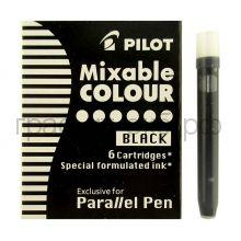 Картридж Pilot для перьевой ручки черный 6шт. IC-P3-S6-В