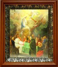 Успение Пресвятой Богородицы (19х22), светлый киот