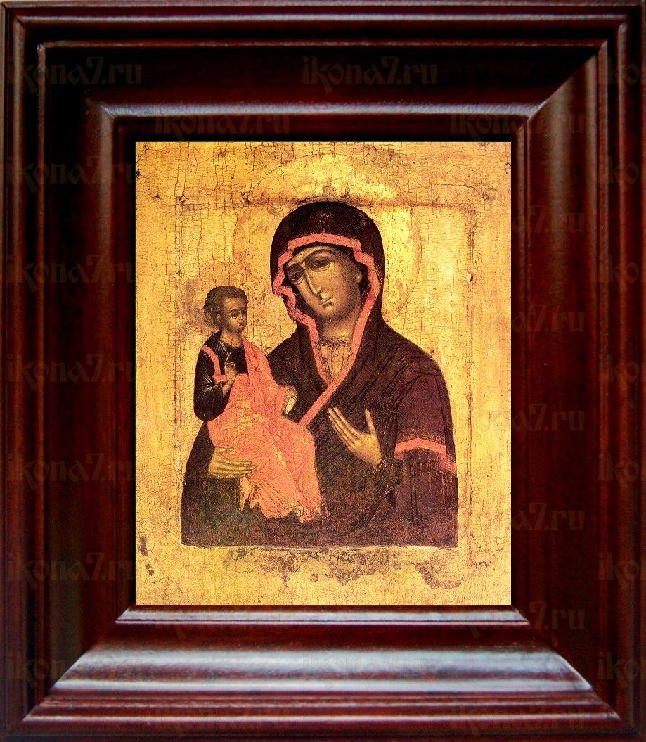Цареградская икона БМ (21х24), простой киот