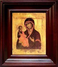 Цареградская икона Божьей Матери (21х24), простой киот