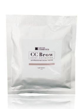 CC Brow Light Brown Хна СС для бровей в саше светло-коричневая