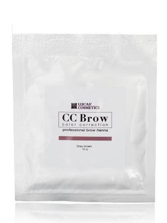CC Brow Grey Brown Хна СС для бровей в саше серо-коричневая