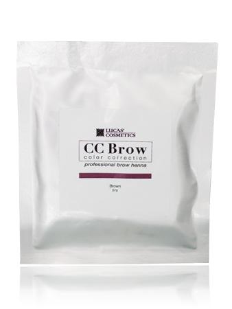 CC Brow Brown Хна СС для бровей в саше коричневая