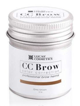CC Brow Grey Brown Хна для бровей СС в баночке серо-коричневая