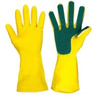 Перчатки с губкой универсальные