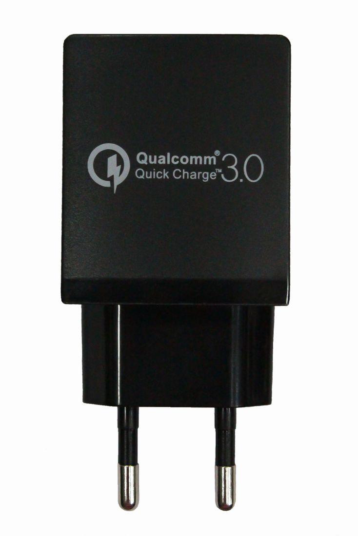 Зарядное устройство Qualcomm Quick Charge 3.0 USB (5V/9V/12V-18Wmax)
