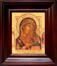 Чухломская (Галичская) икона БМ (21х24), простой киот