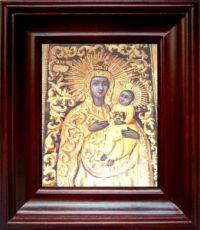 Якобштадтская икона Божьей Матери (21х24), простой киот